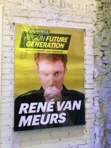 René van Meurs had een boodschap