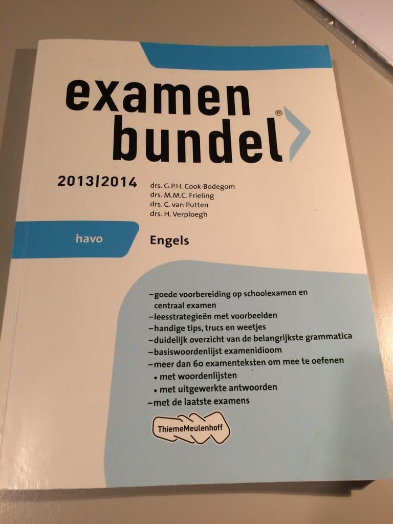 examenbundel havo Engels 2013|2014