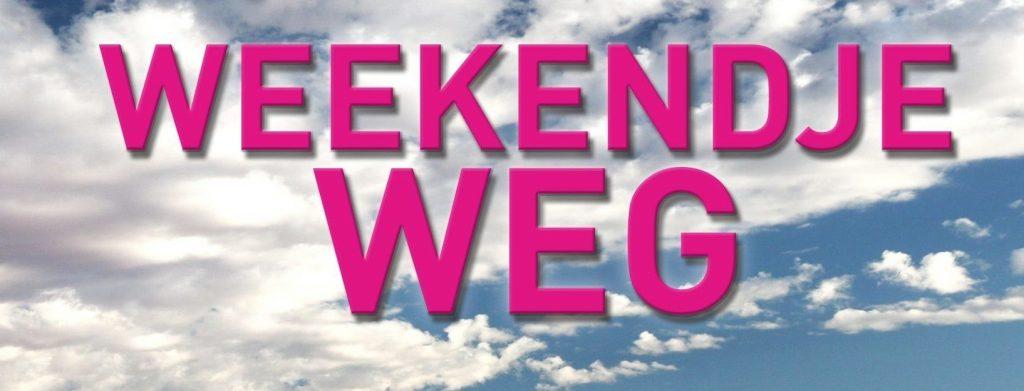 cover Weekendje Weg tweede druk